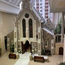 ホテルモントレ京都の画像|教会 ホテル2階から撮影