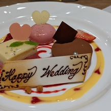 白金迎賓館 アートグレイスクラブの画像|ムースケーキ