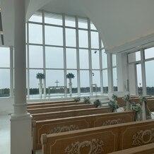 アートグレイス ウエディングコースト 東京ベイの画像|曇りだとこんな感じでした