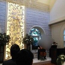 ロザンジュイア 広尾迎賓館の画像 式開始前の式場の様子