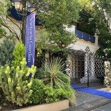 ヴィクトリアガーデン恵比寿迎賓館の画像|門です。