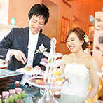 星野リゾート 軽井沢ホテルブレストンコート:初めて体験するリゾートウエディングもプロのアドバイスで安心。当日もたくさんの優しさに包まれて過ごせた