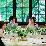 星野リゾート 軽井沢ホテルブレストンコート:銀座サロンでの打合せで準備もスムーズ。迷いがちなふたりに合わせた、プランナーの提案が嬉しかった
