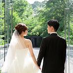 星野リゾート 軽井沢ホテルブレストンコート:ガーデン演出&会場コーディネートにこだわりが満載。想いを形にできるようスタッフたちが全力でサポート