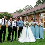 星野リゾート 軽井沢ホテルブレストンコート:非日常的な時間&空間でおもてなし。ふたりの結婚式に感動して、プロポーズを決意したという男性ゲストも