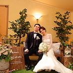 星野リゾート 軽井沢ホテルブレストンコート:軽井沢から離れた地でも、リゾート挙式の打ち合わせがスムーズ。親身なスタッフたちのおかげで当日も笑顔に