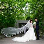 星野リゾート 軽井沢ホテルブレストンコート:高原の緑と風を感じるリゾートウエディングは特別感が満載。軽井沢の魅力を余すことなく楽しんでもらえた
