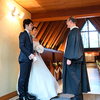 軽井沢高原教会:銀座サロンで打ち合わせを進め、現地との連携もしっかりとれていて安心。牧師からの温かな言葉も心に響いた