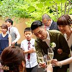 軽井沢高原教会:現地に行けなくてもサロンで細かく打合せし、安心して本番に臨めた。プロの技術でイメージ以上の花嫁姿に