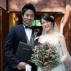 軽井沢高原教会:銀座のウエディングサロンでしっかりと打ち合わせ。衣裳持ち込みで用意し忘れた手袋も柔軟に手配してくれた