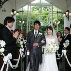 森のチャペル 軽井沢礼拝堂 ホテル軽井沢エレガンス:思い出の場所・軽井沢での結婚式を希望したふたりは、自由度が高く柔軟な対応に惹かれてココに決めた!