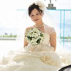 アクアグレイス・チャペル:準備期間中で、沖縄に行くのは、料理の試食をする時だけ。衣裳合わせも打ち合わせも、横浜のサロンで完了!