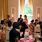 軽井沢プリンスホテル フォレスターナ軽井沢:ガーデンからの再入場、新郎からのプロポーズ…。サプライズと感動が彩った24歳のバースデーに幸せを実感!