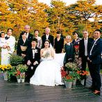 軽井沢プリンスホテル フォレスターナ軽井沢:非日常感たっぷりの場所で写真撮影を楽しんだ。緑溢れる癒しのリゾートでゲストと過ごし、素敵な思い出に