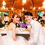 THE NIDOM RESORT WEDDING:季節の花に彩られたガーデン付きコテージでアットホームなパーティ。食材にこだわった美食でゲストを笑顔に