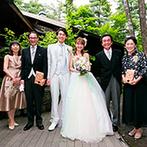 THE NIDOM RESORT WEDDING:旅行も兼ねてゲストとたくさん思い出をつくることができた。ドレスが映える美しいロケーションで写真撮影も