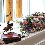 THE NIDOM RESORT WEDDING:湖の見える開放的なコテージを中世ヨーロッパ調にコーディネート。地元の素材を活かした出来たての美食も