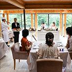 THE NIDOM RESORT WEDDING:大自然の息吹を感じる非日常空間で、大切なゲストをもてなした結婚式。広大な敷地もバスの移動で快適に