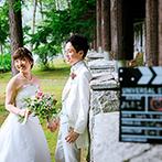 THE NIDOM RESORT WEDDING:雄大な森の中で心あたたまるリゾートウエディングを。北海道の素材を贅沢に使った美食にも心を掴まれた