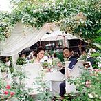 THE NIDOM RESORT WEDDING:丁寧な打ち合わせ&事前宿泊で安心して当日を迎えられた。スタッフ総動員で夢のガーデンパーティも実現