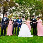 THE NIDOM RESORT WEDDING:日常から遠く離れた北海道リゾートで、家族や友人たちと最高の思い出を。大自然の中で心ゆくまで交流できた