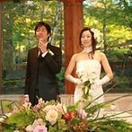 軽井沢クリークガーデン:自然豊かなリゾート地だから、結婚式翌日には、ゲストにゆっくりと散策を楽しんでもらえるところが嬉しい