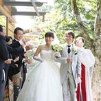 軽井沢クリークガーデン:思い出の地・軽井沢で叶える温かな結婚式。四季折々の表情を楽しめるリゾートウエディングに胸が高なった