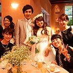 石の教会 内村鑑三記念堂:宿泊型のウエディングでゲストはリラックス。軽井沢の観光も満喫し、全員の想い出に残る結婚式となった