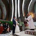 石の教会 内村鑑三記念堂:家族旅行で訪れて、自然と調和した教会の美しさに魅了。結婚式をするならここで…と決めていた思い出の場所