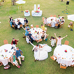 コーラルヴィータ・チャペル(ANAインターコンチネンタル万座ビーチリゾート):スタッフの明るい人柄でパーティがさらに楽しい時間に。遠方在住でもスタッフのおかげで準備期間も安心