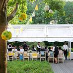 星野リゾート リゾナーレ八ヶ岳:リラックスムード満点のガーデンパーティで非日常感を満喫。本格的なイタリア料理は目で楽しめる演出も