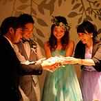 星野リゾート リゾナーレ八ヶ岳:演出や引出物など、プランナーの的確なアドバイスが心強かった。結婚式に携わったすべてのスタッフに感謝