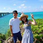 アラマンダ チャペル(シギラベイサイドスイート アラマンダ):目の前に広がる真っ青な海が何よりステキ!美しい景色の中のびのび過ごした旅行で家族の距離もグッと近くに