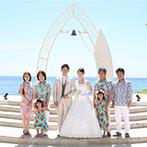 ラソール ガーデン・アリビラ:結婚式から宿泊、観光まで沖縄の魅力を思いっきり満喫!両家の家族に、共通の想い出の場所ができた