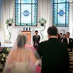 ローズガーデンクライスト教会:丘から望む景色も歴史薫る礼拝堂もすべてがダイナミック!札幌ならではの会場に「ゲストに喜ばれる」と確信