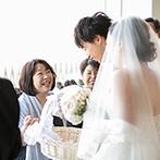 ローズガーデンクライスト教会:「親族だけの結婚式って何をしたらいいの?」と悩んだ末にたどり着いた、ふたりらしさがあふれるひととき
