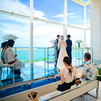 セントレジェンダ OKINAWA(CENTLEGENDA OKINAWA):美しい海を望む沖縄で、旅行も兼ねて大切な家族と思い出の1ページを。スタッフの誠実な対応に安心できた