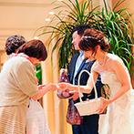 セントレジェンダ OKINAWA(CENTLEGENDA OKINAWA):サロンスタッフに細かく相談しながら安心して本番を迎えられた。温かいスタッフに囲まれて素敵な一日が実現