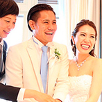 セントレジェンダ OKINAWA(CENTLEGENDA OKINAWA):他県での準備も、丁寧な対応とこまめなメールのやり取りで安心。洗練された結婚式のイメージが見事に形に!