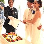 セントレジェンダ OKINAWA(CENTLEGENDA OKINAWA):沖縄から遠く離れた地でも、会場同士がしっかり連携していて安心。応援のおかげで、当日は青空に恵まれた