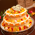 SP VILLAS サンパレス福島:イメージを形にしてくれたスタッフ。会場コーディネートから装花、ケーキのデザインまで希望が叶い大満足