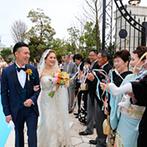 アーククラブ迎賓館 金沢:全てのスタッフがふたりの専属となって結婚式をバックアップ。徹底したサポート体制のおかげで当日も安心