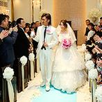 アーククラブ迎賓館 金沢:クラシカルな雰囲気のチャペルで叶えた感動挙式。開放感たっぷりのガーデンでアフターセレモニーも満喫!