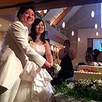 藻岩シャローム教会:大自然をイメージしたナチュラルな装花や北海道の形のケーキなど、地元愛にあふれるコーディネートの数々