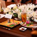 藻岩シャローム教会:透き通るような美しい冬空とともに、日本食コースを堪能。おいしい料理の数々にゲストとの会話も弾んだ