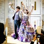 ブルーミントンヒル:プランナーをはじめ、専門スタッフ達と創りあげた結婚式。親身な対応にふたりは感謝の気持ちが溢れた