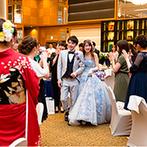 THE MARCUS SQUARE NAGASAKI(旧 ベストウェスタンプレミアホテル長崎):こだわり抜いて後悔のない結婚式を。周囲の人に相談すると気分転換になり、新しいアイデアが浮かぶことも