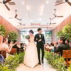 WITH THE STYLE (ウィズ ザ スタイル):オリジナリティのある結婚式が叶う、都心の貸切ゲストハウスに決定!ナチュラルなチャペルにも惹かれた