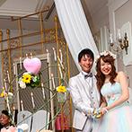 ホテルモントレ札幌:お互いを想い合うふたりが、それぞれサプライズを用意。スタッフのサポートで、感動的な演出は大成功