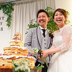 Brides Scene エスティーズ:純白の貸切邸宅をナチュラルな雰囲気にトータルコーディネート。豪華な食材を使った美食がゲストに大好評